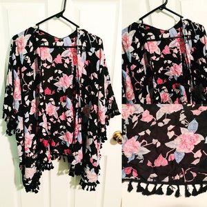 Sweaters - Pretty Rose Kimono