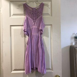 Millau Dresses & Skirts - Lavender cut-out dress