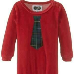 Mud Pie Other - Boys velour One pc