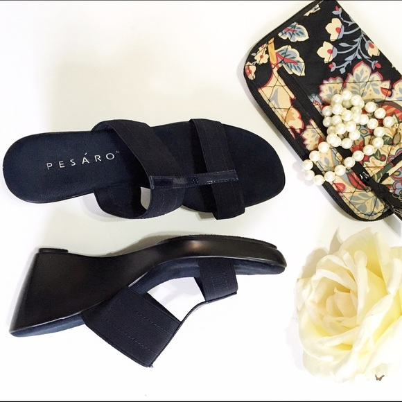 9c65d9b7b5c153 Pesaro Shoes | Pesro Haley Navy Blue Sandals Nwot | Poshmark
