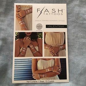 Flash Tattoo Jewelry - Flash Tattoos with Swarovski crystals 💎