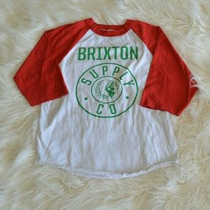 Brixton Tops - BRiXTON holiday t shirt MEN'S size S &M