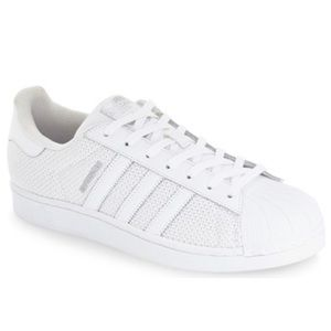 Adidas Superstar Mesh White RARE