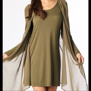 Miilla Clothing Dresses & Skirts - CLOSE OUT SALE!!! NWT Miilla Clothing Cape Dress