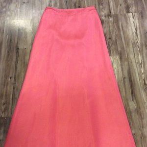 Carmen Marc Valvo Dresses & Skirts - Carmen Marc Valvo size 8 pink floor length skirt
