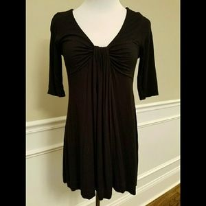 Forever 21 Tops - Forever 21 Black Stretch Tunic or Short Dress