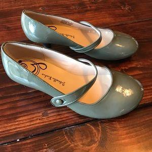 Gabriella Rocha Shoes - Leather kitten heel Mary Janes