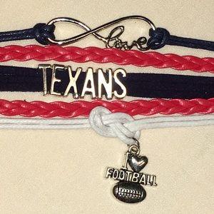 I ❤️🏈 Houston TEXANS Friendship Bracelet