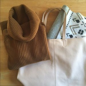Geo thick scarf