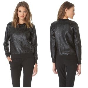Theory Sweaters - NWT Theory 38 Shiny Pullover Sweatshirt