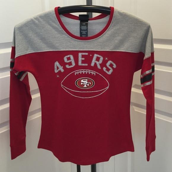 NFL Girls 49er Juniors Collection T-Shirt  New cdb544011