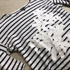 [J. Crew] Floral Sailor T-Shirt