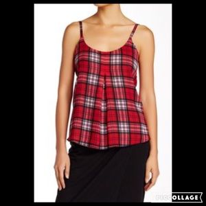 🆕 ABS plaid tank XS