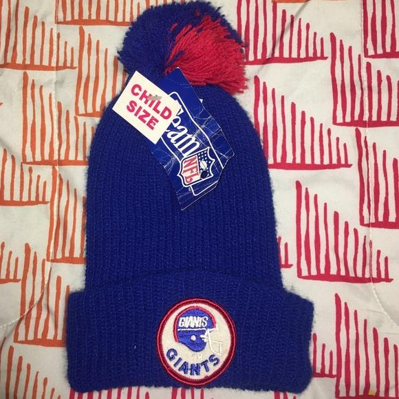 Vintage New York Giants Winter Football Hat 0975dbcda83