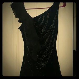 🖤IZ BYER black velveteen top🖤