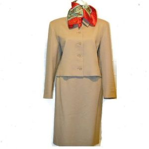 Pendelton Tan Wool Suit