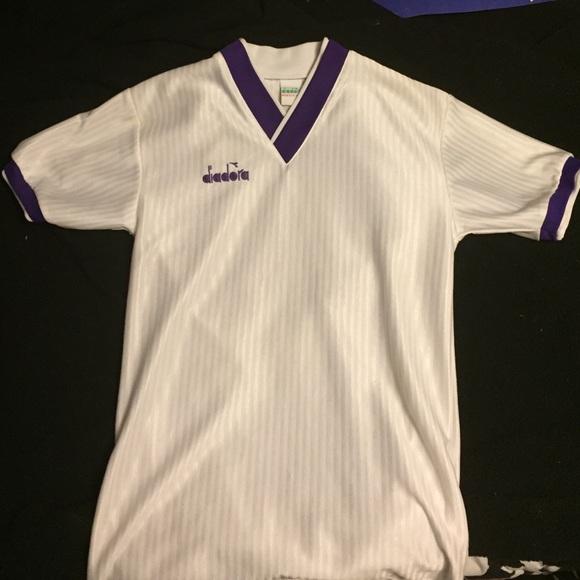 new style 7b08a fb33b Retro Diadora Soccer Jersey