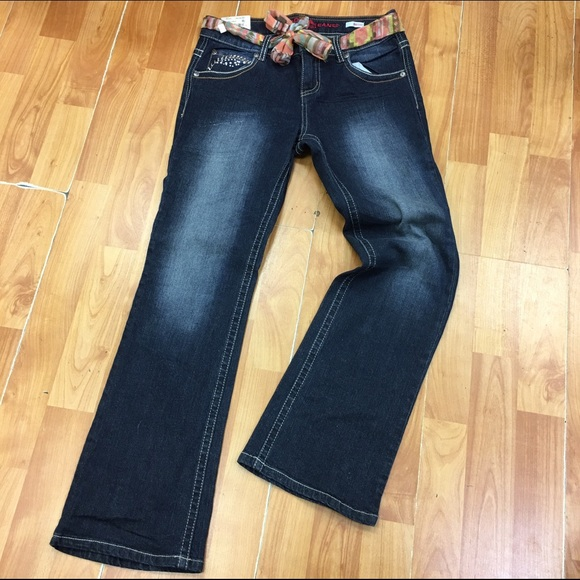 3655b57856d Arizona Jeans Girls NEW NWT Boot Cut Bootcut 10.5