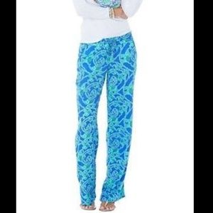 NWOT Lilly Pulitzer Loopy Philippa Pant- Small