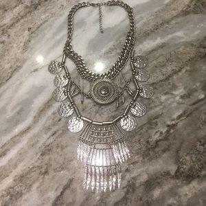 Child of Wild Jewelry - 💎Silver metal Aztec style necklace💎