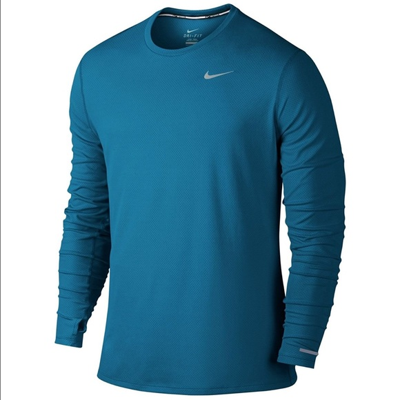f3522c2d8 Nike Shirts | Mens Dry Contour Running Top | Poshmark