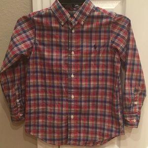 Excellent condition Polo Ralph Lauren boys shirt
