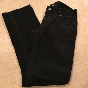 J. Crew jeans.