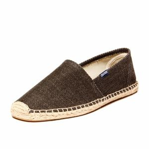 Ashton Kutcher's Pick: Soludos - HERRINGBONE TWILL