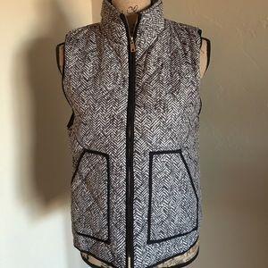 Fashionomics Jackets & Blazers - Printed herringbone vest.