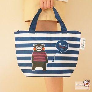 Handbags - Japan cute Kumamoto bear handbag waterproof