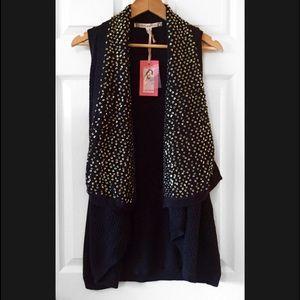 Chelsea & Violet Sweaters - 🎉HOST PICK🎉Chelsea & Violet Sequin Knit Cardigan