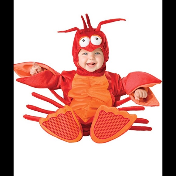 baby lobster costume 0 6 months