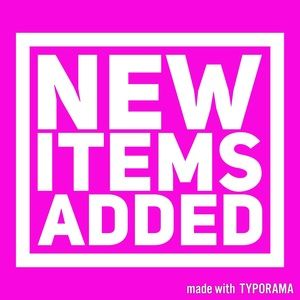 Other - New items added regularly