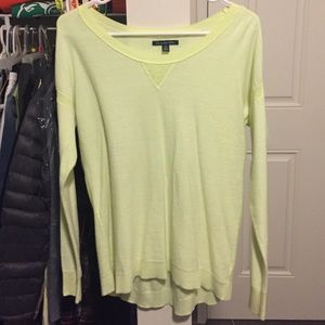 AEO Lime green sweater