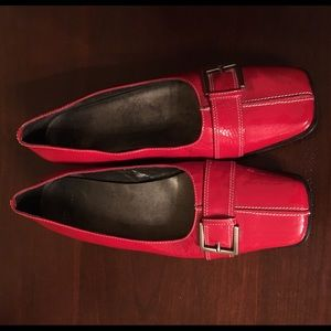 Shoes - Vintage red patent leather shoes
