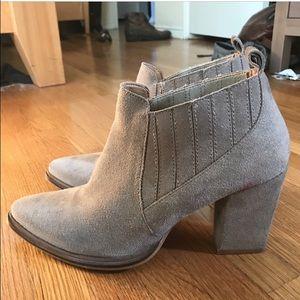 Zara Boots - Zara suede booties size 39 us 8