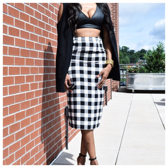 Who What Wear for Target Dresses & Skirts - Who What Wear Ginham Pencil Skirt