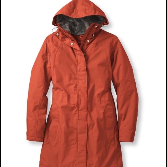69ec40593 L.L. Bean Women's Winter Warmer Coat Red