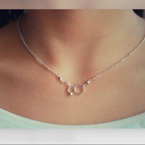 Jewelry - Biochemistry molecular necklace