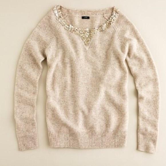 J. Crew - 🎄SALE! J. Crew Lambswool Sequin Boyfriend Sweater from ...
