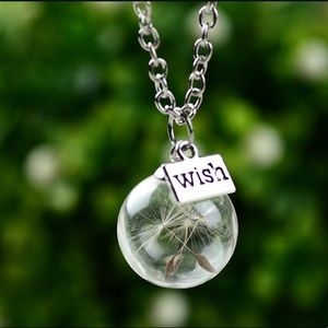 Jewelry - Dandelion seed necklace