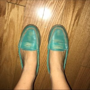 Bed Stu Shoes - Turquoise Bed Stu Loafers