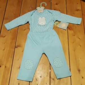 Bunnies by the Bay Other - Bunnies by the bay two piece set 6/9 month NEW
