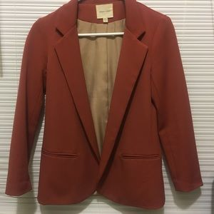 silence + noise Jackets & Blazers - Burnt orange blazer