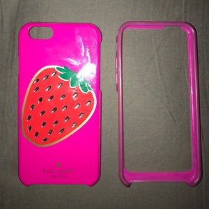 USED kate spade iPhone 6 or 6s case 