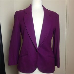 Miss Pendleton Jackets & Blazers - Miss Pendleton 100% virgin wool blazer