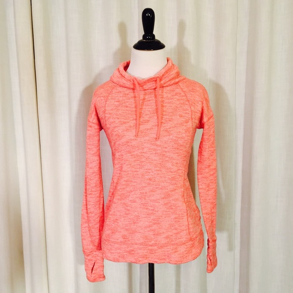 68% off GAP Sweaters - GAP neon pink cowl neck funnel neck ...
