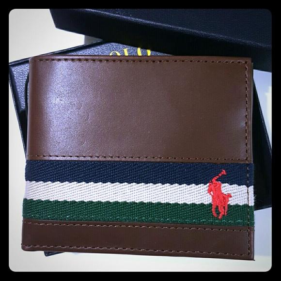 9ce984f05ca Polo by Ralph Lauren Bags | Polo Ralph Lauren Wallet Men Ribbon Pony ...