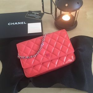 Chanel WOC wallet on a chain