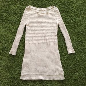 Anthropologie MOTH cream sweater